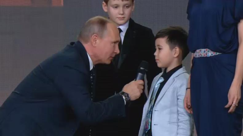 Vidéo-Poutine : «Les frontières de la Russie ne se terminent nulle part»