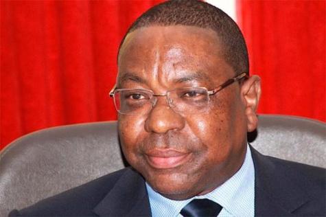 Le ministre des affaires étrangères Mankeur Ndiaye