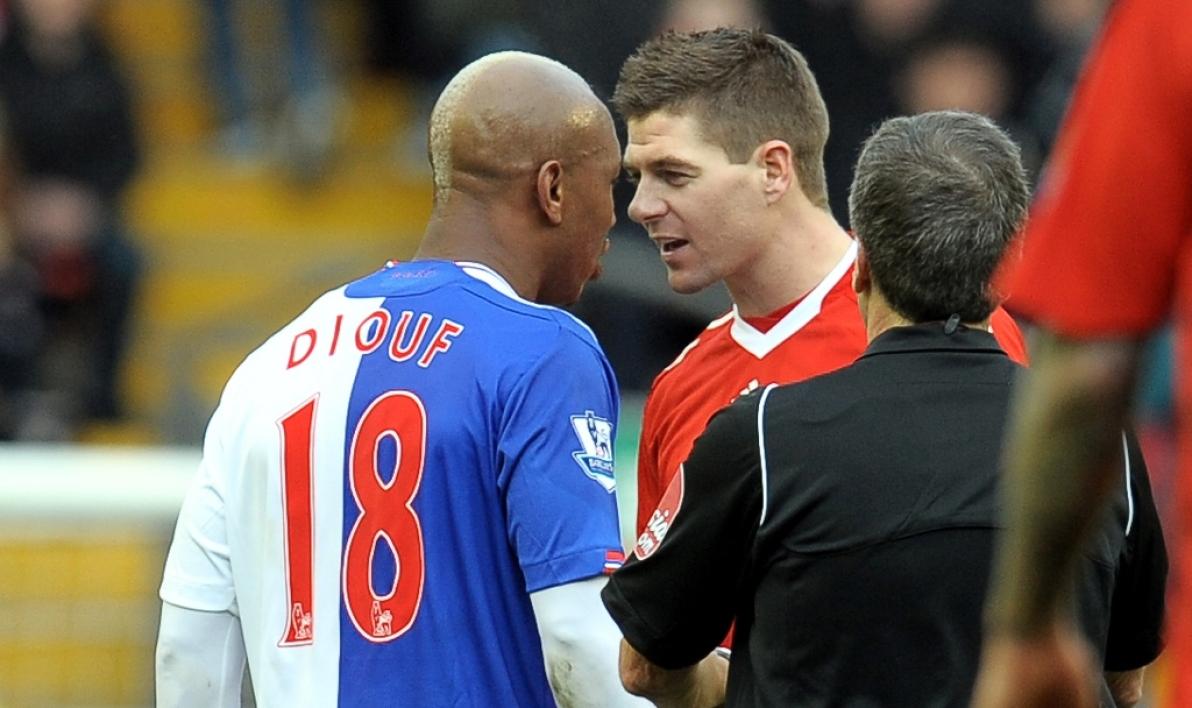 El Hadji Diouf traite Steven Gerrard de rapporteur de ce qui se disait dans le vestiaire de Liverpool