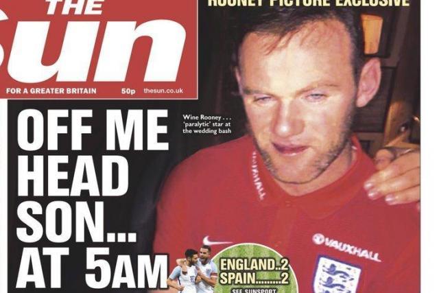 Wayne Rooney finalement blanchi par sa fédération, après sa soirée ivre lors d'un mariage