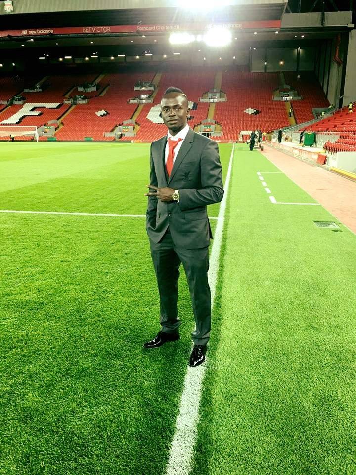 Sadio Mané à Anfield