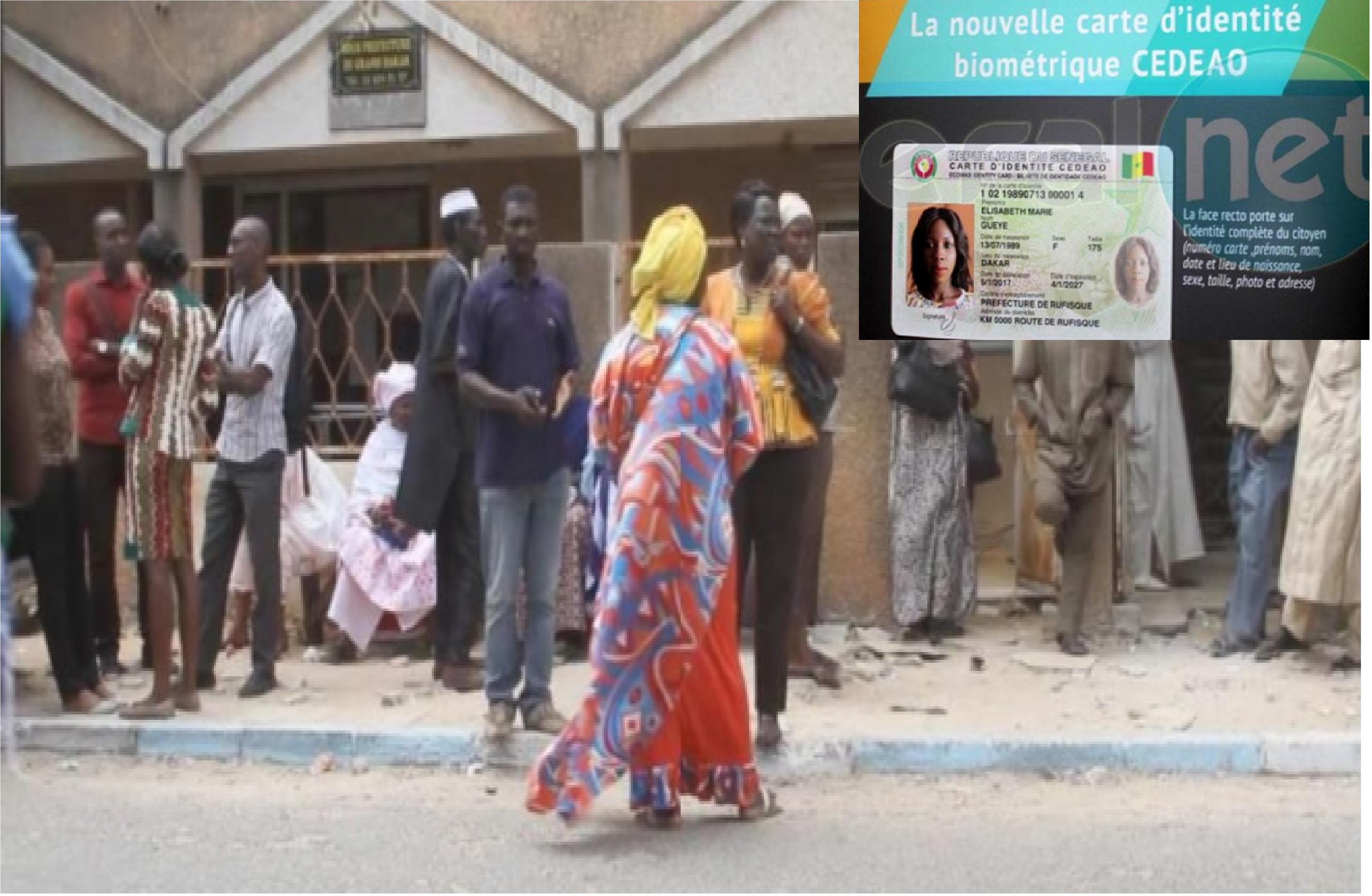 Difficultés pour l'obtention des cartes biométriques: Un vieillard meurt dans la file d'attente à la Préfecture de Guédiawaye