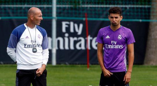 Zinedine et Enzo Zidane