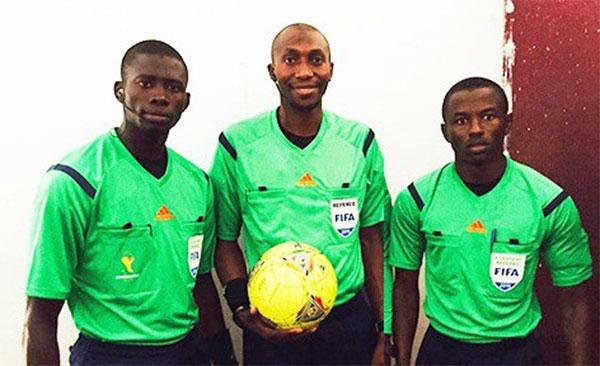 CAN 2017: Un trio arbitral sénégalais sélectionné