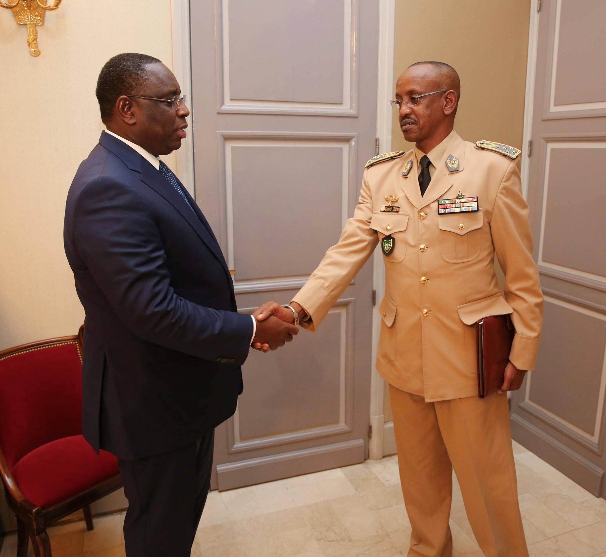 SE Macky Sall et le Semga Mouhamadou Sow