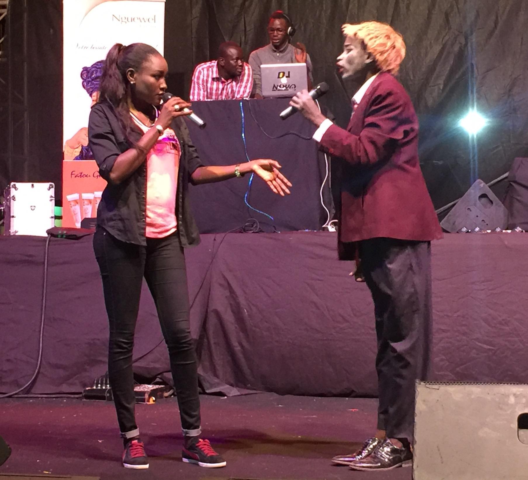 Niatame et Mbaye(Alex Trump) mode délire