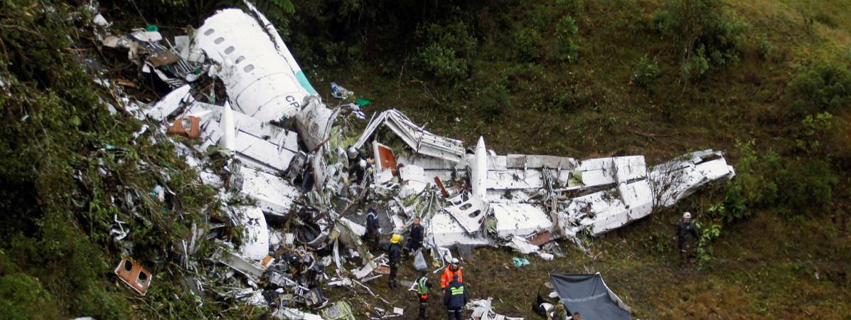 Vingt journalistes parmi les victimes dans le crash aérien en Colombie