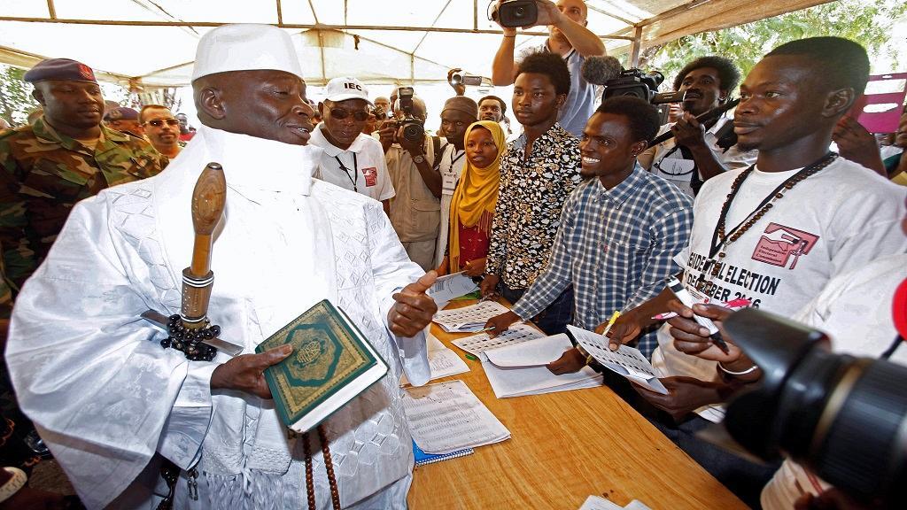 Yahyah Jammeh aux urnes ce jeudi pour l'élection à sa propre succession