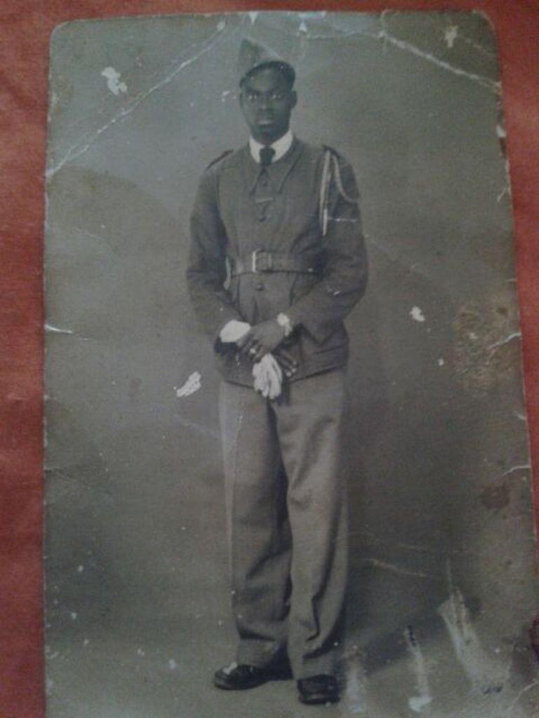 Le Tirailleur sénégalais Souleymane Doukouré.