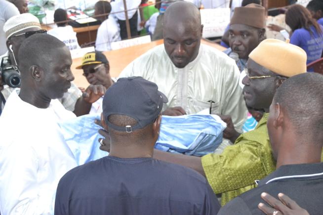 Photos : MBORO : Forte mobilisation d'Abdoulaye Ndiaye pour réélire le président Macky Sall en 2019