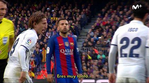 Jordi Alba aurait insulté Kovacic.....