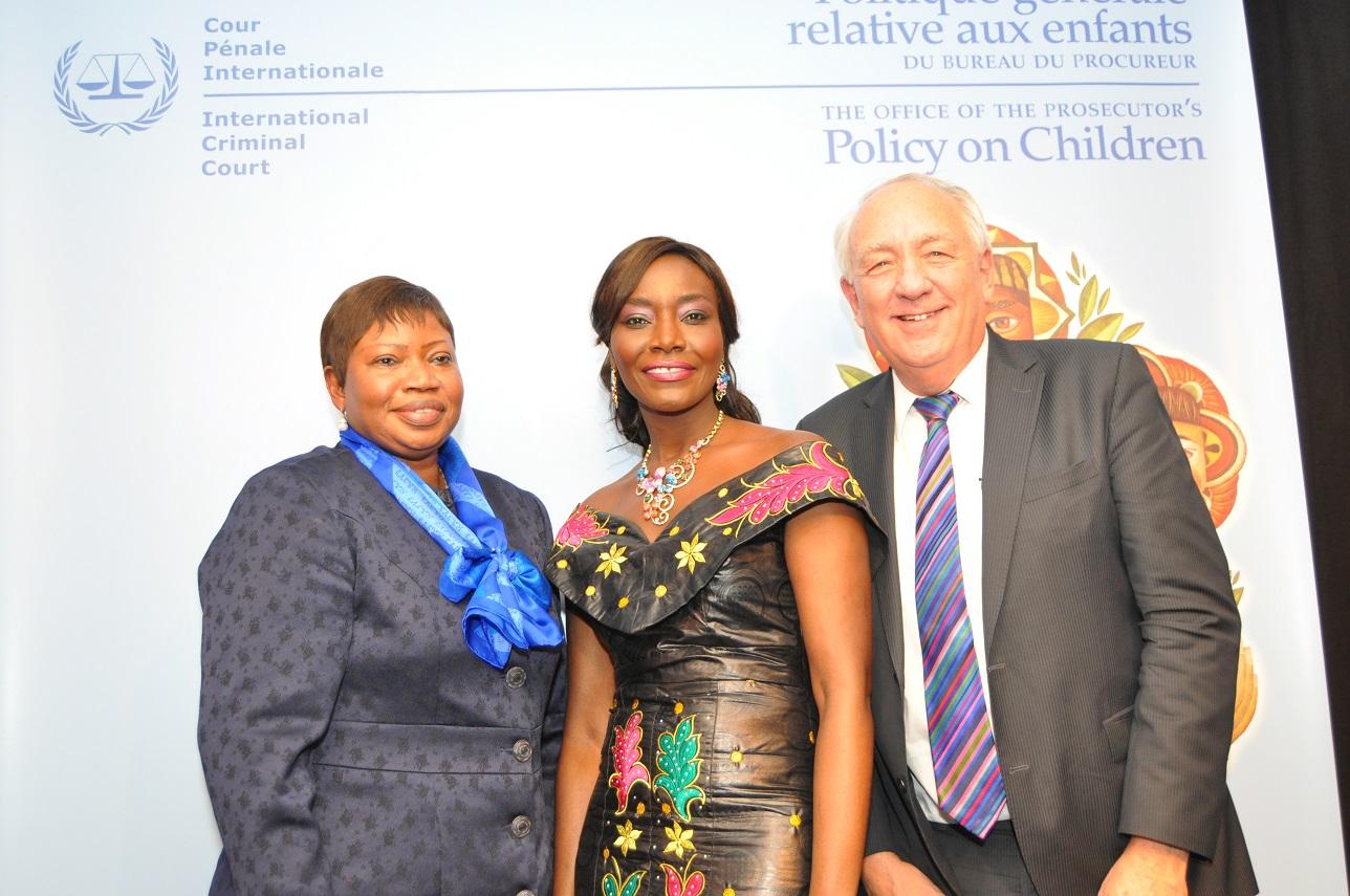 Photos: Gala CPI : Coumba Gawlo enchante Fatou Bensouda et séduit ses hôtes