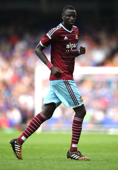 West Ham : Cheikhou Kouyaté, souffrant à l'aine, non retenu contre Liverpool
