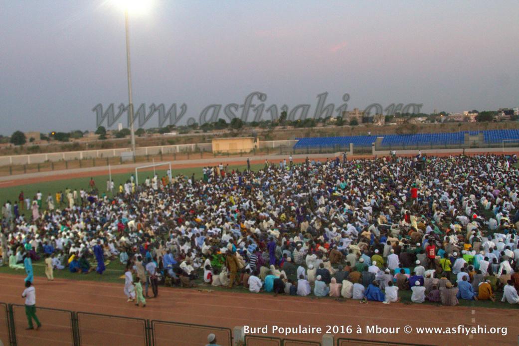 PHOTOS - Burd populaire Gamou Tivaouane : les images du Stade Caroline Faye de Mbour