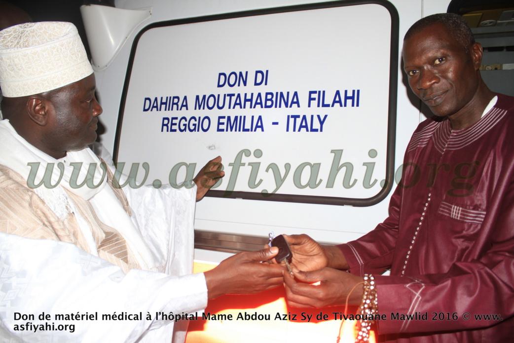 PHOTOS - GAMOU 2016 : la cérémonie de remise de don de matériel médical à l'hôpital El Hadj Abdoul Aziz Sy Dabakh de Tivaouane