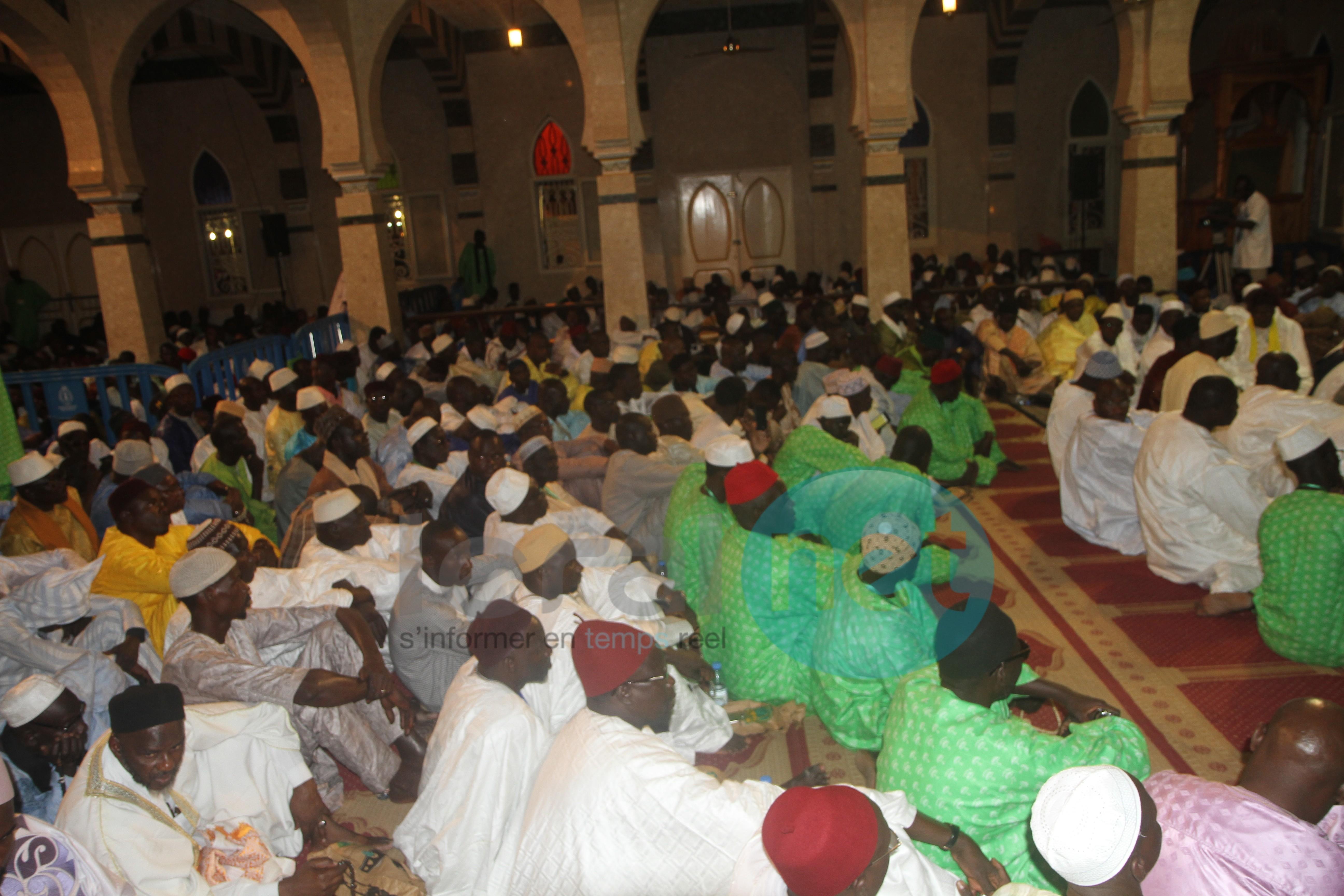 Quelques images de la célébration du Maouloud à  la  Zawiya  El Malick Sy Tivaouane