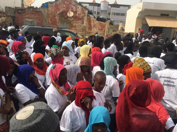 Me Nafissatou Diop soutient le Président Macky Sall ( Photos)