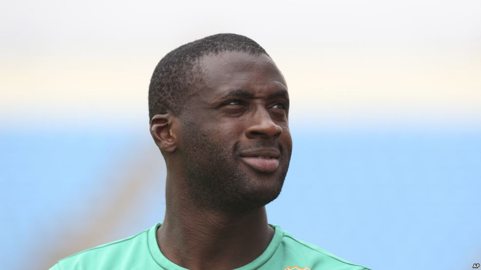 Le milieu international Yaya Touré, lors de la CAN 2015 en Guinée Equatoriale.