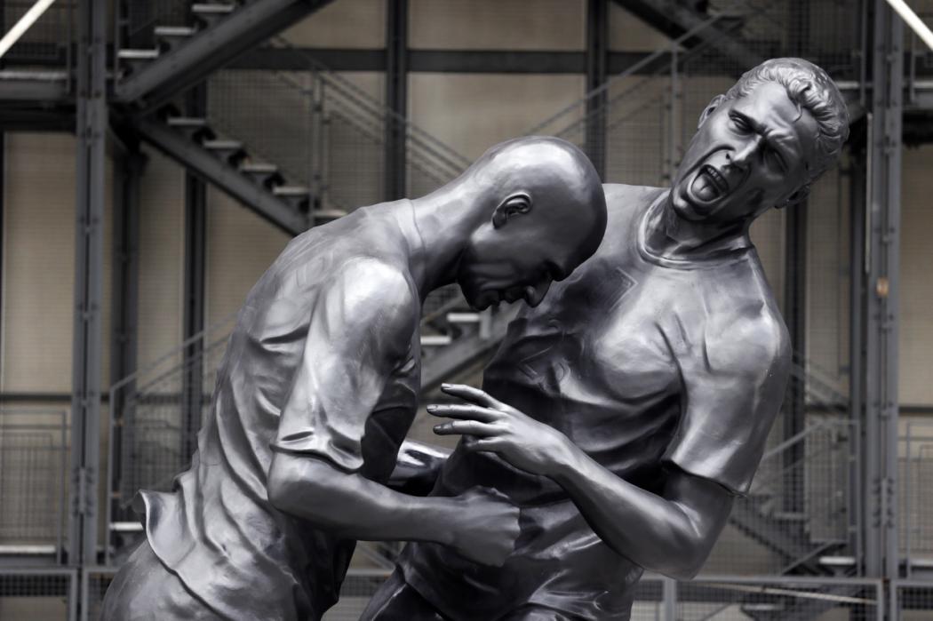 Coup de boule de Zidane à jamais dans l'histoire!!