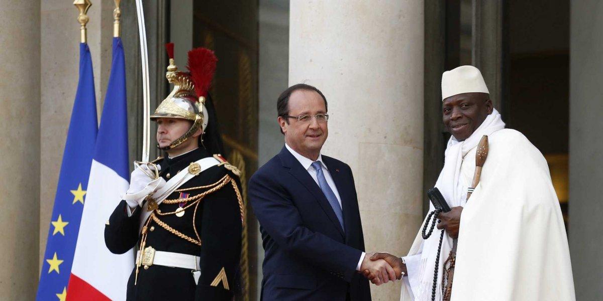 """Gambie: le président élu """"doit être installé le plus vite possible"""", dit Hollande"""