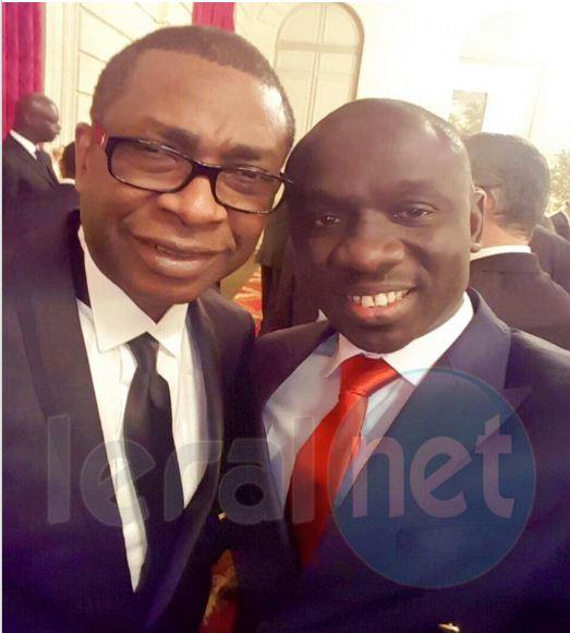 Papa Diouf et Youssou Ndour