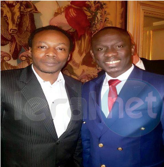 Papa Diouf lead vocal de la génération consciente pour animer le dîner de gala à l'Elysée