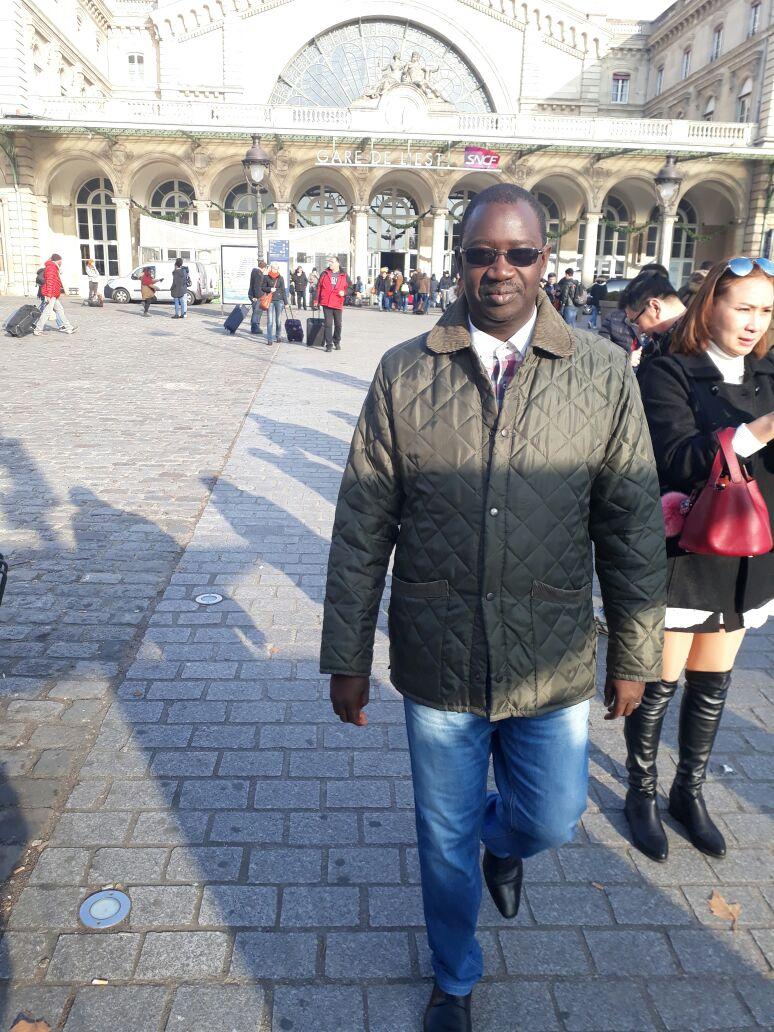 Pape Diogoye Faye, patron de Direct Inf en villégiature