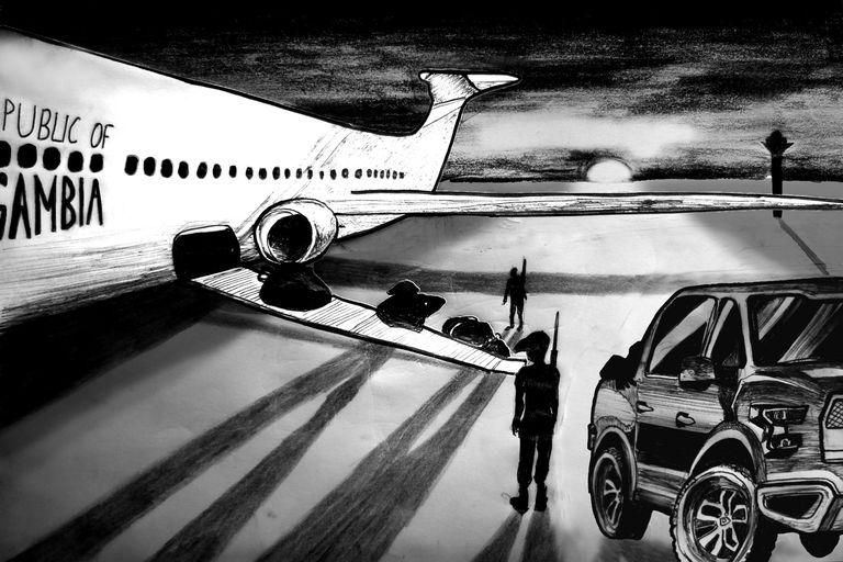 Enquête Le Monde : les cargaisons mystérieuses de l'avion militaire soviétique de Yahya Jammeh