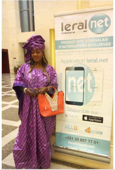 A l'instant au Grand Théâtre avec www.leral.net pour l'anniversaire de Kiné Lam Mame Bamba