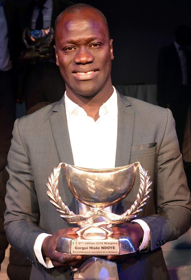Gorgui Wade Ndoye, le meilleur Journaliste de la Diaspora Sénégalaise