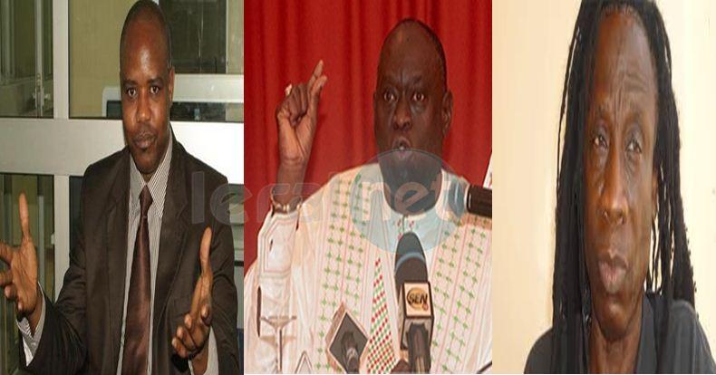 Mamadou Diouf Ouza Diallo et Me El Hadji Diouf