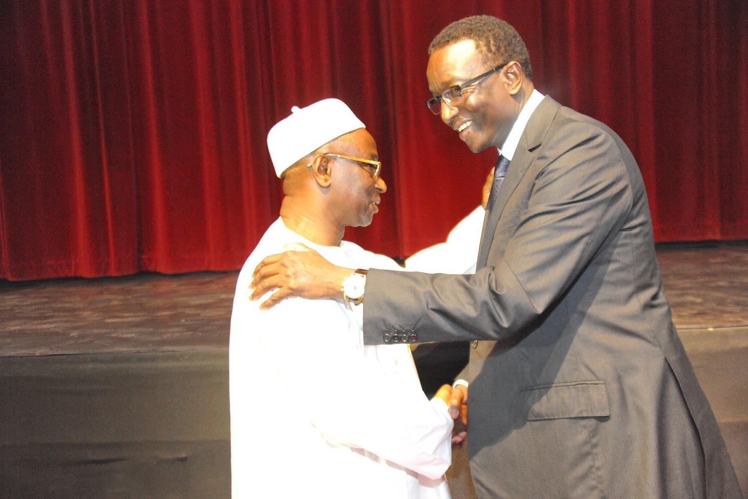 Abdoulaye Diop, ancien ministre de l'Economie et des Finances, élevé à l'Ordre National du Lion