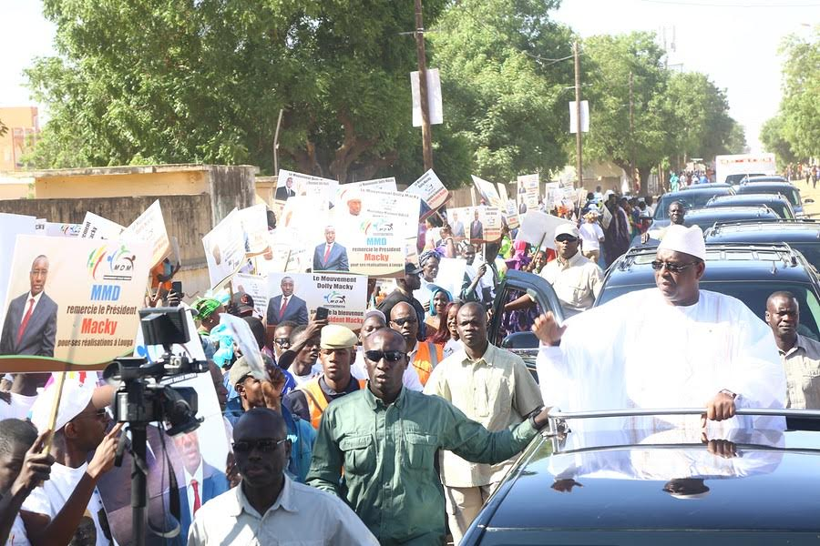 Macky Sall chez la famille omarienne à Louga : Mamour Diallo mobilise en masse ses militants