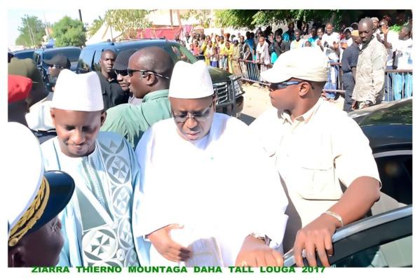 Ziara Thierno Mountaga Daha Tall à Louga : Les confidences de Macky Sall face au khalife omarien