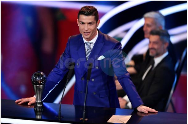 Photos : Cristiano sacré meilleur joueur de l'année 2016 par la Fifa
