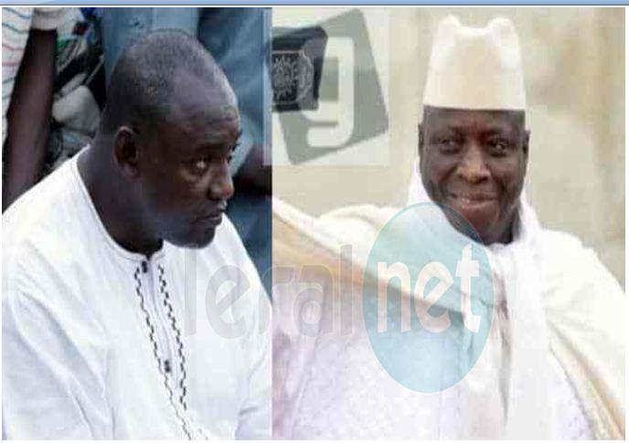 Adama Barrow net Yahya Jammeh