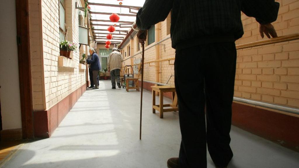 En 2050, plus d'un quart de la population chinoise sera âgé de plus de 65 ans. Illustration: une résidence pour retraités près de Pékin.