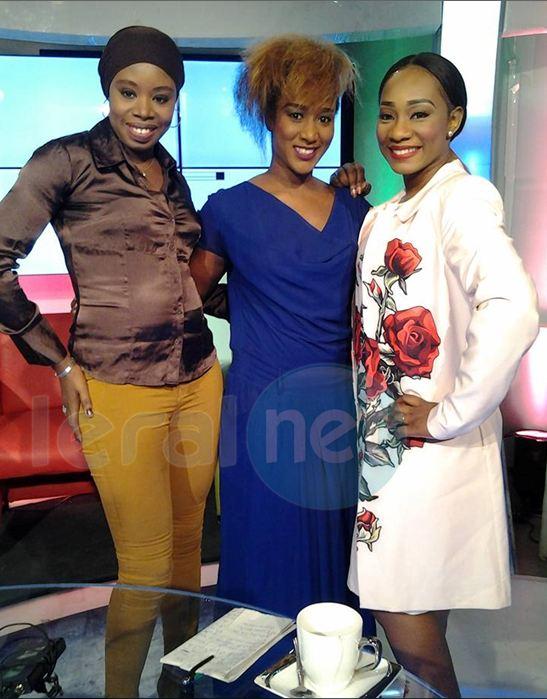 Aissatou, Nafisaer et Sarah