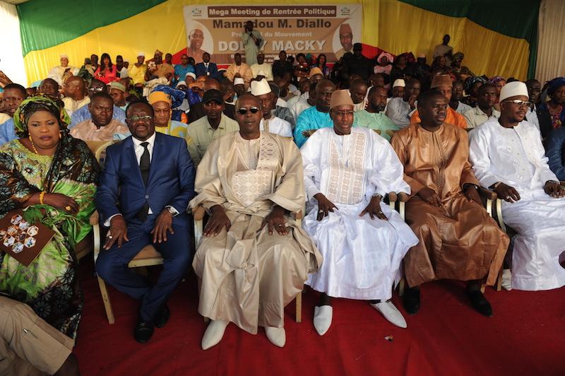 Meeting de rentrée politique: Mamour Diallo assure Macky de la victoire en 2017 et la réélection en 2019 dès le 1er tour