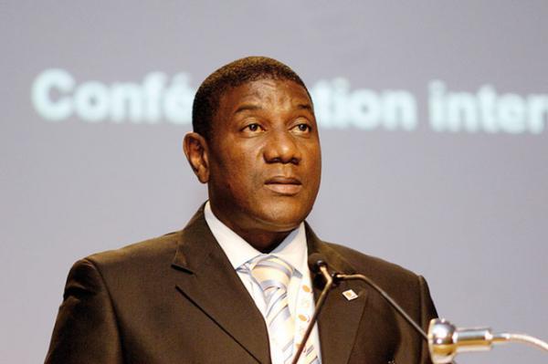 Mody Guiro, le secrétaire général de la Confédération nationale des travailleurs du Sénégal (Cnts).