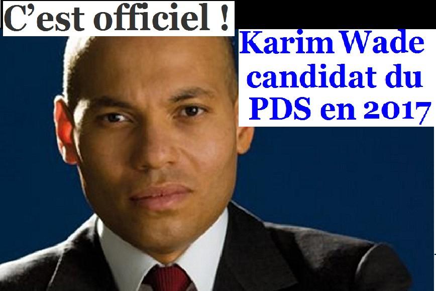 Présidentielle 2019-Candidature chimérique de Karim Wade