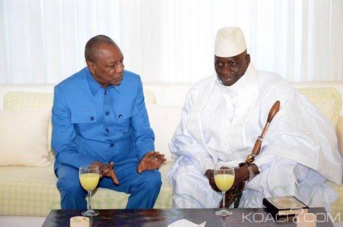 Urgent GAMBIE: Yahya Jammeh accepte de se retirer
