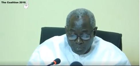 Halifa Sallah, le porte-parole du président Adama Barrow : « Ce vendredi est le dernier jour pour mettre fin aux négociations ou aller à la guerre à l'impasse politique du pays »