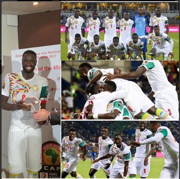 """Le message du capitaine des """"Lions"""" Cheikhou Kouyaté aux supporteurs: """"Soyez rassurés, on va continuer à travailler dur !"""""""