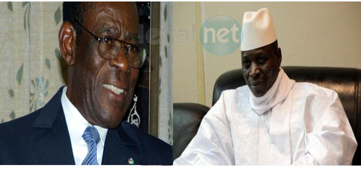 Chronique-fiction : entretien loin des radars entre Yaya Jammeh et Obiang Nguema à son arrivée à Malabo