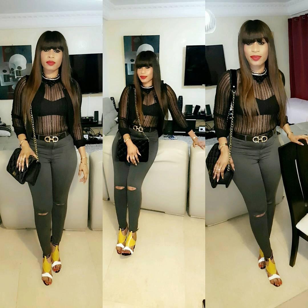Sexy, Aïda Samb en pantalon hyper moulant…