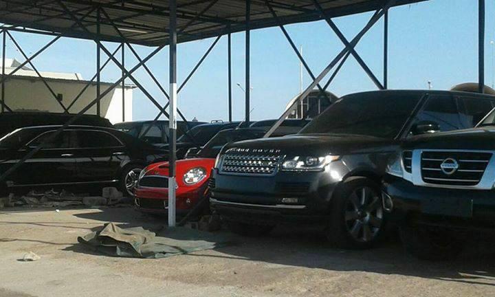 Gambie: Découvrez en photos les voitures de luxe de l'ex-président Yahya Jammeh