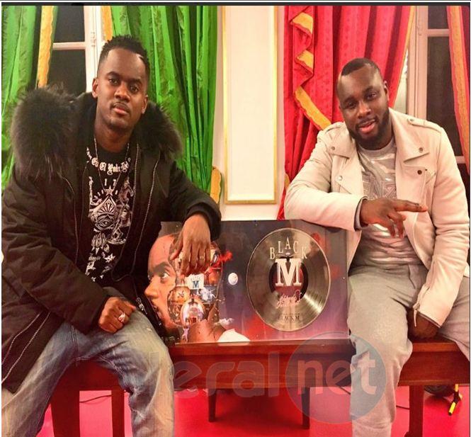 Photo- Black M du groupe Wati B décroche un disque platine et vise le double platine