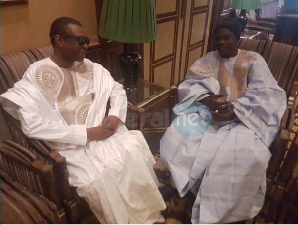 Photo: Youssou Ndour et Baba Maal, deux grandes voix de la musique sénégalaise