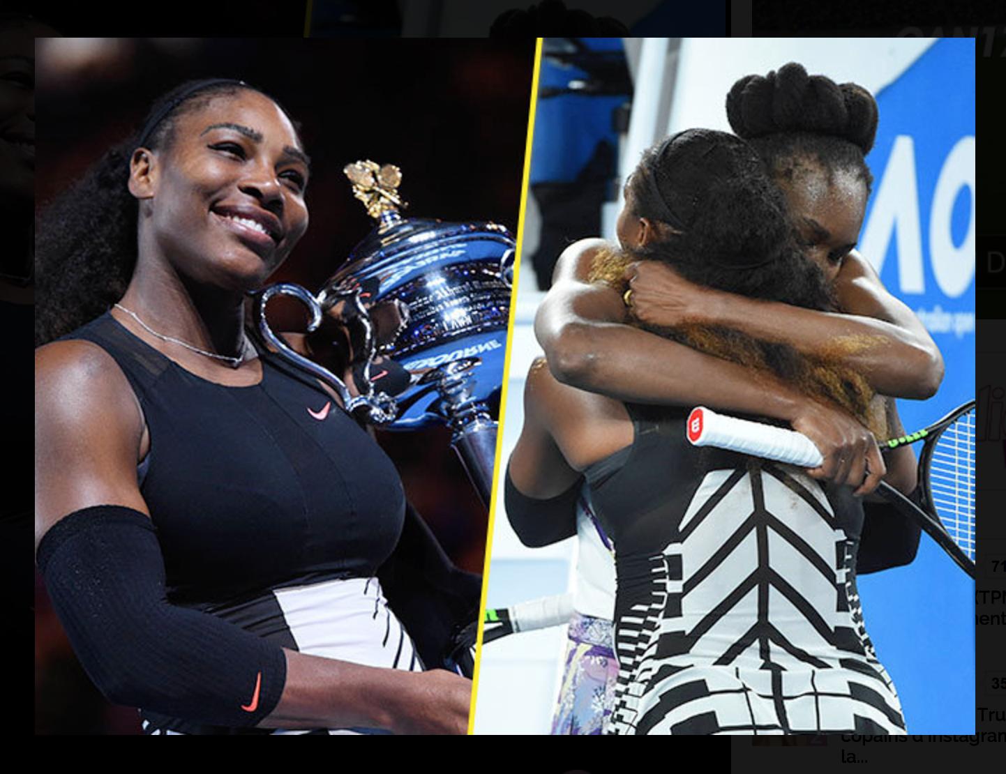 Serena et Vénus Williams